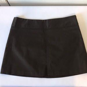 Old Navy Dark Brown Mini Skirt New